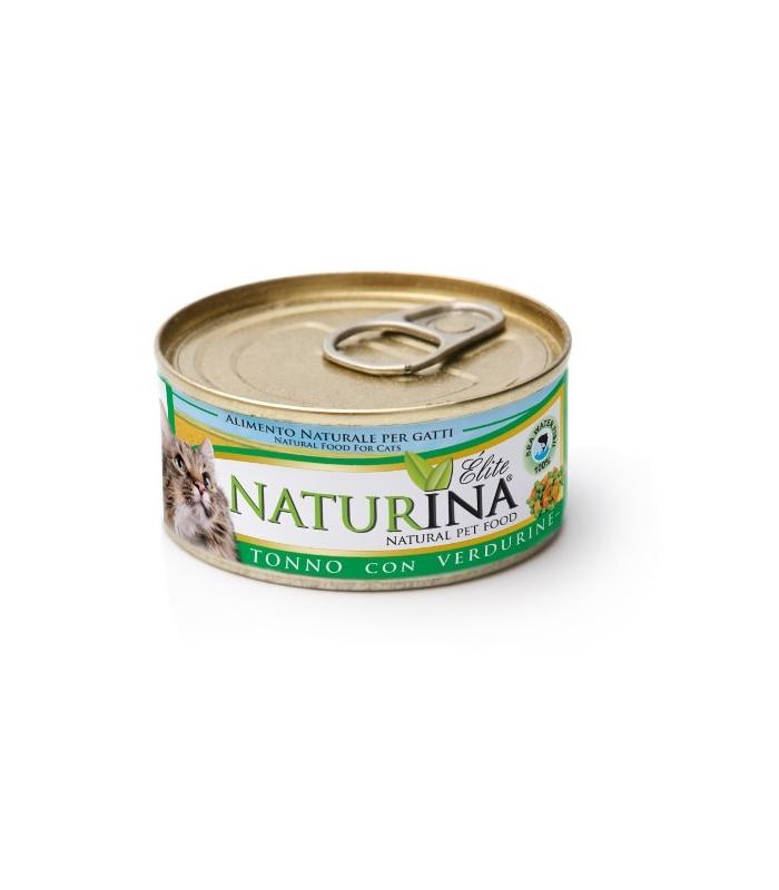Naturina Wet Cat - Tuńczyk z warzywami