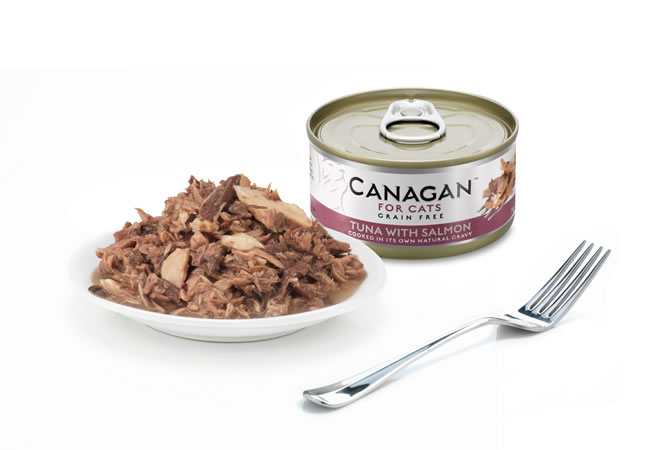 Mokra karma dla kota Canagan